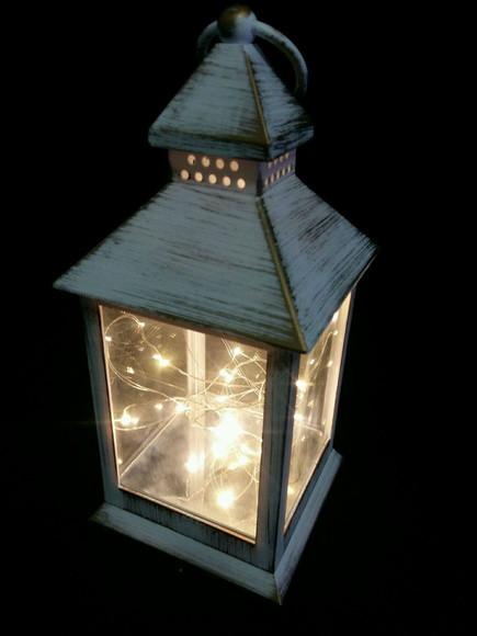 Luminária Lanterna de mesa no Elo7 Amor Lindo Boutique (9BF617)