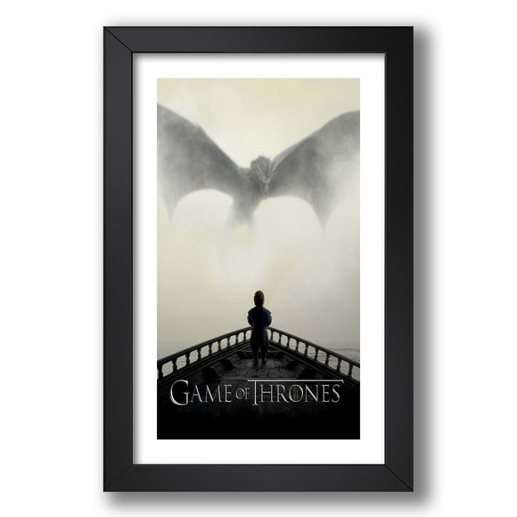 Quadro Game Of Thrones 67x47cm Serie Tv