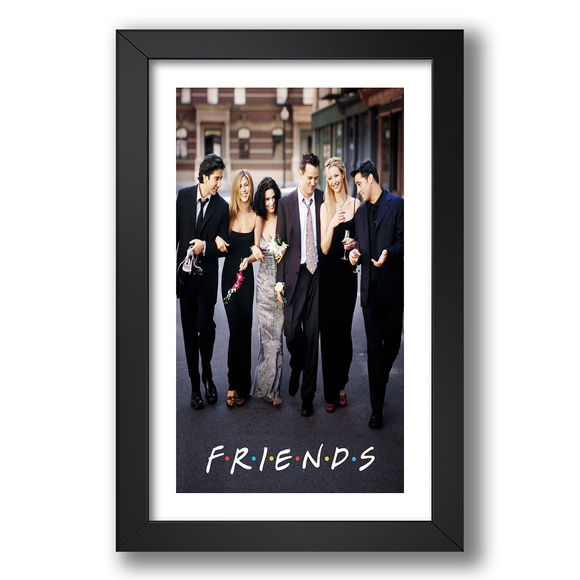 Quadro Serie Tv Friends 67x47cm Decor G9