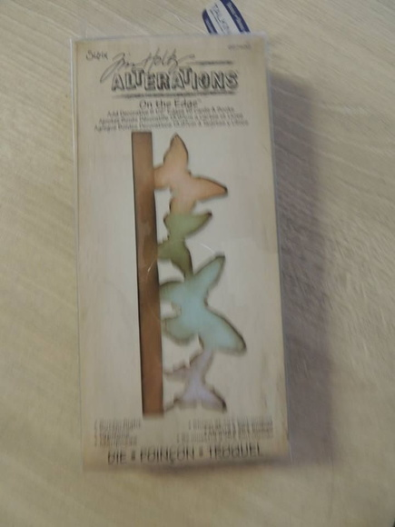 Die cut - Tim Holtz