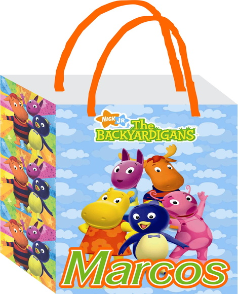 Sacola Backyardigans P