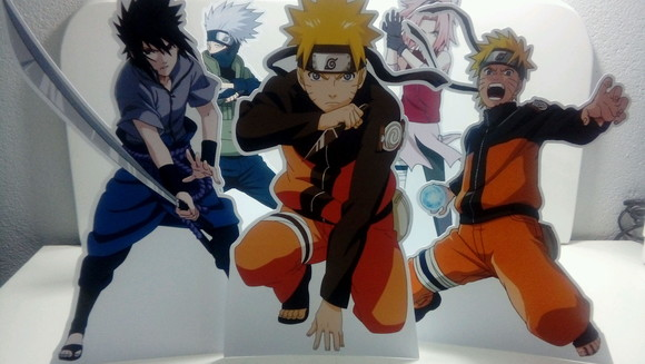 Kit displays de mesa Naruto
