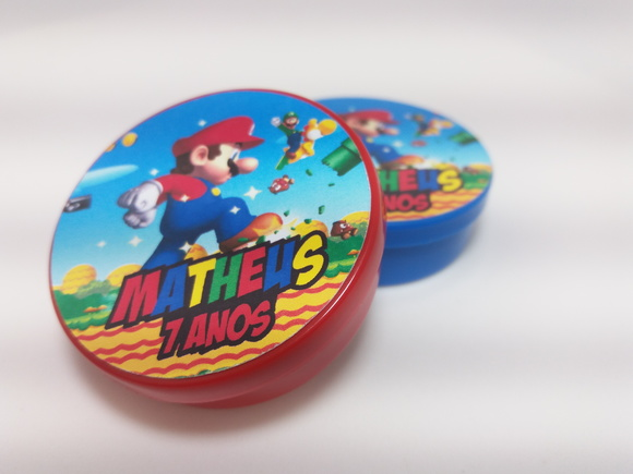Latinha Super Mario Bros mint to be