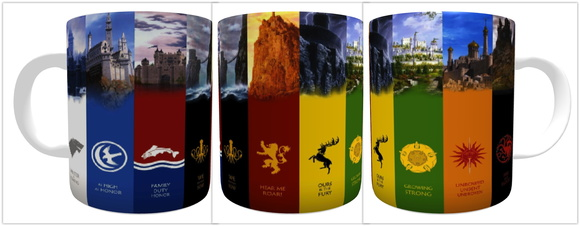 CANECA DE PORCELANA GAME OF THRONES