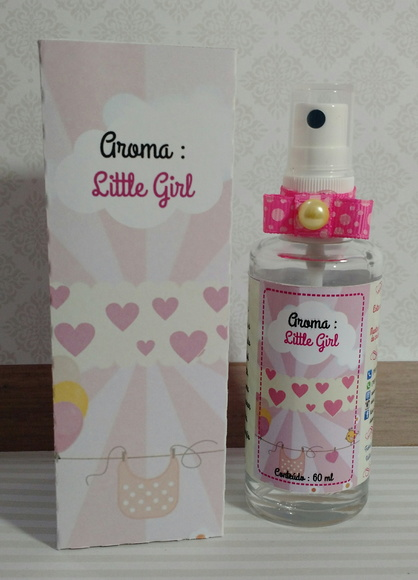 PERFUME PARA PAPEL - AROMA LITTLE GIRL