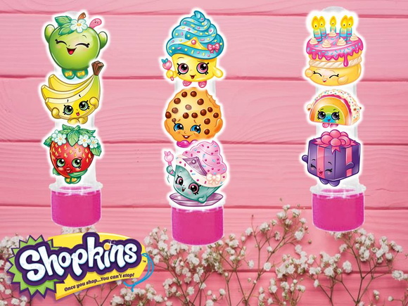 Tubete 3 D Shopkins