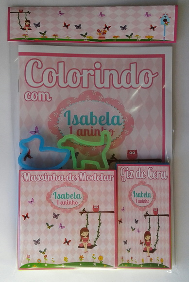 Kit Colorir + Kit Massinha Jardim Secret