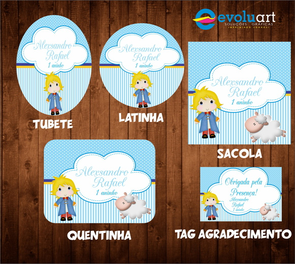 Kit digital pequeno principe