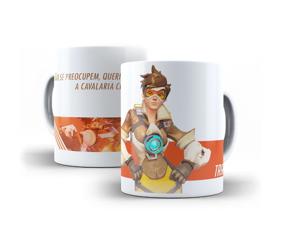 Caneca Tracer Overwatch 325ml