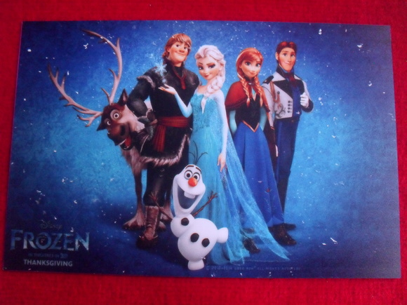 Placa Decorativa Frozen 1mm