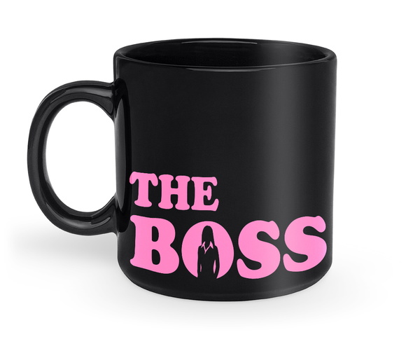 Caneca The Boss Pink