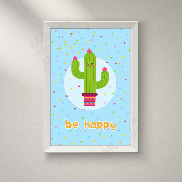 Quadro Infantil (Be Happy)