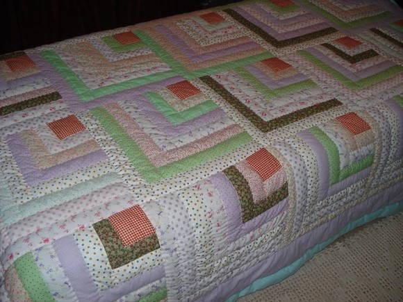 Colcha em patchwork de solteiro roselene colchas - Colchas de patchwork modernas ...