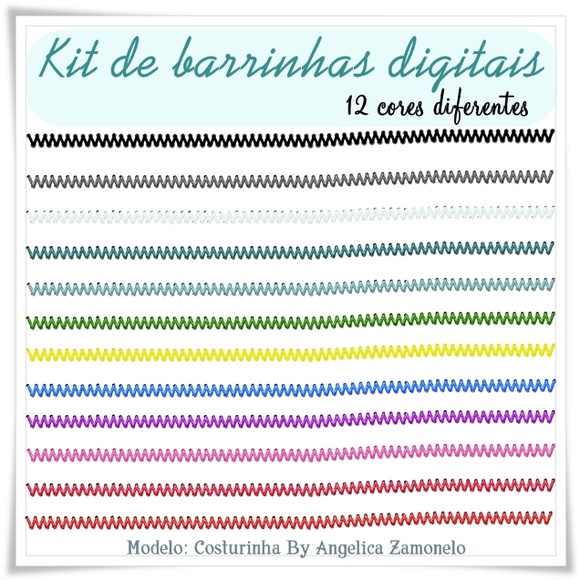 Kit barrinhas digitais