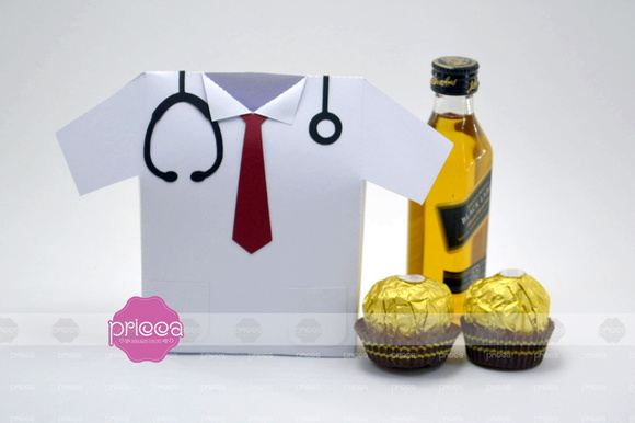 Molde Caixa Camisa Medico  f8135069ecb1e