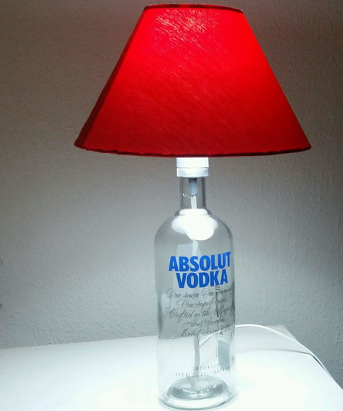 Abajur Absolut Vodka