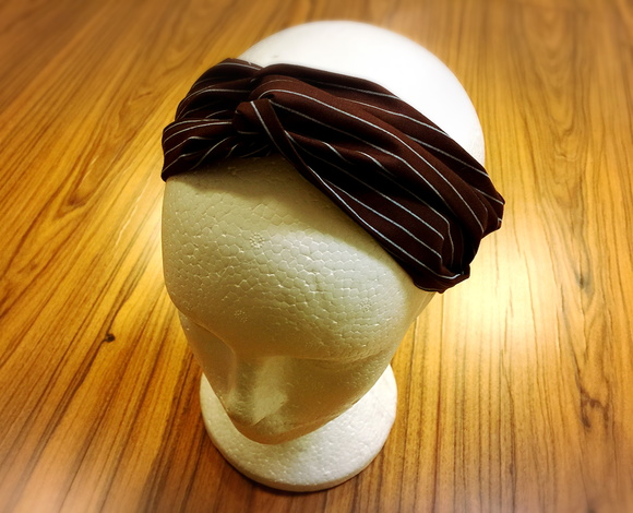 Faixa/Headband turbante Brown