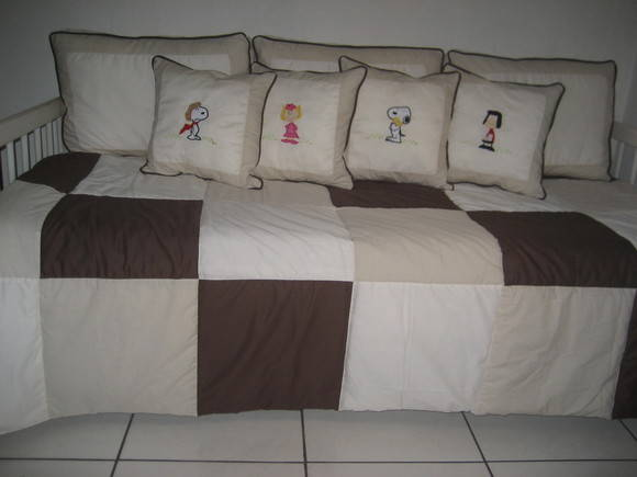 Kit cama da baba Snoopy