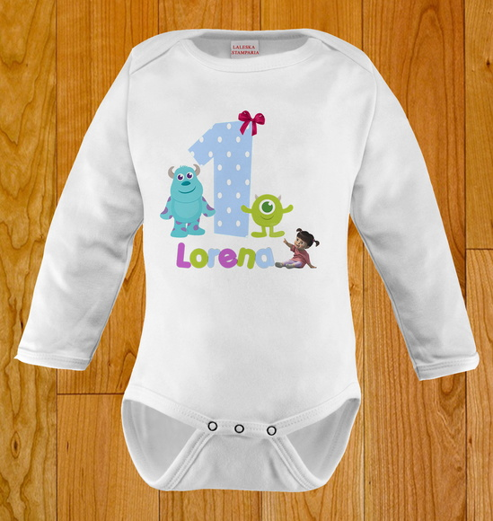 BODY INFANTIL - MONSTROS S.A