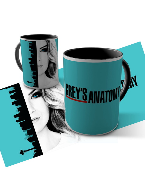 Caneca Grey's Anatomy - Meredith Grey
