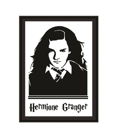 Quadro Harry Potter - Hermione Granger