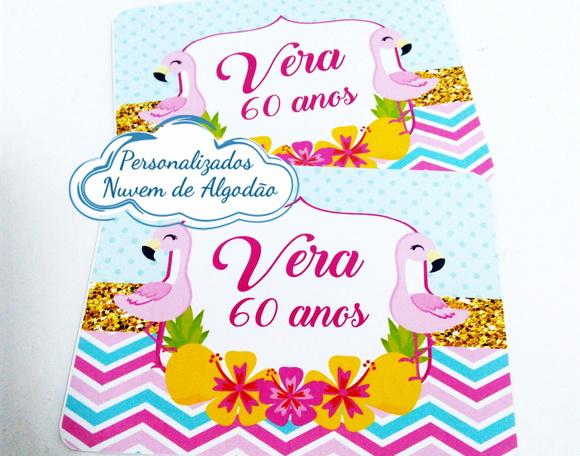 Adesivo Para Levantar Mama Funciona ~ Adesivo de marmita Abacaxi e Flamingo no Elo7 Nuvem de algod u00e3o Personalizados (9DC73F)
