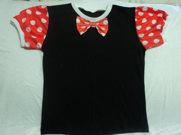 Camiseta Minnie Infantil
