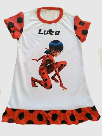 Camisola lady bug Miraculous Adulto