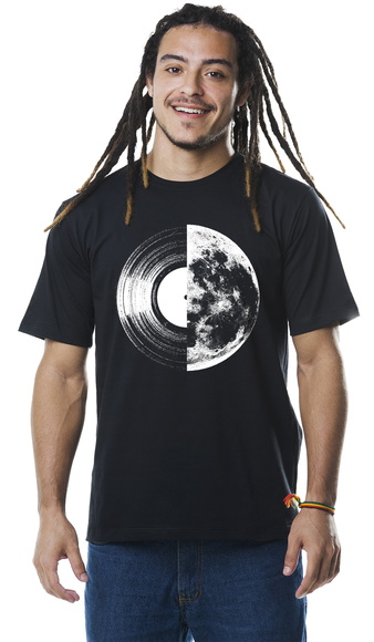 Camiseta Disco Lua