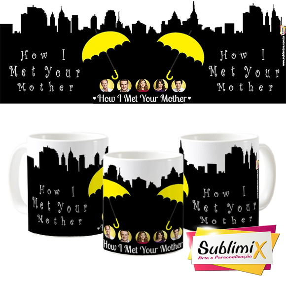Caneca Seriado How I Met Your Mother