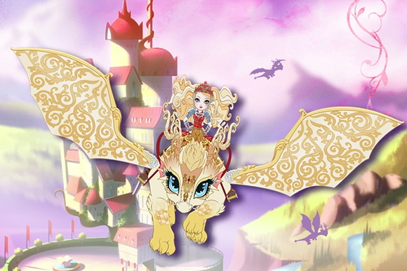 Painel Festa Ever After High (EAH01)