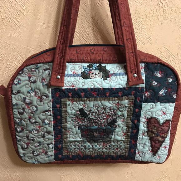 Bolsa estilo pasta no elo7 retalhomania patchwork a0f312 - Estilo patchwork ...