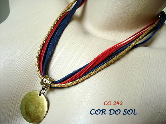Colar Navy Camurça - CO 242