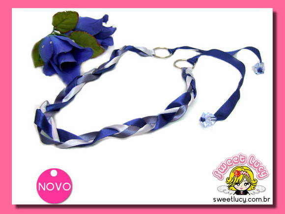 Headband Blue Summer