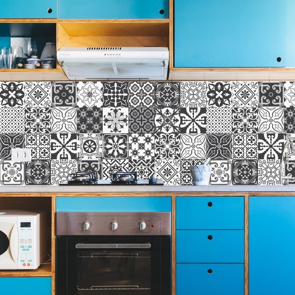 Adesivo Azulejo Cozinha Retr u00f4 Elo7