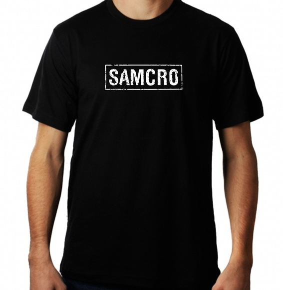 Camiseta Samcro Soa Masculina sons of anarquia rock motos