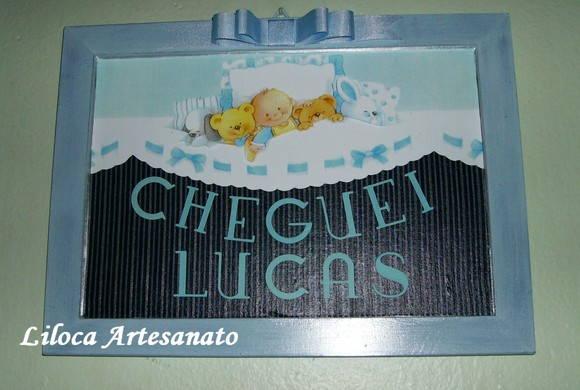 placa de maternidade e quarto do bebê  Liloca Artesanato  Elo7