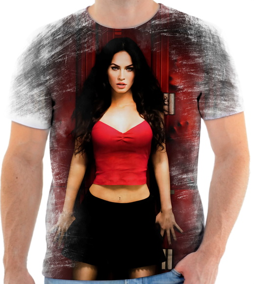 Camiseta Megan Fox Filme 4