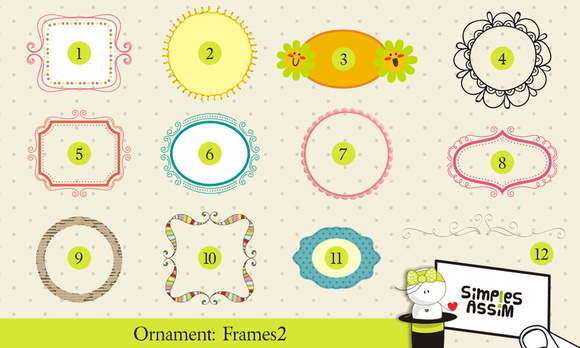 Ornaments: Frames 2