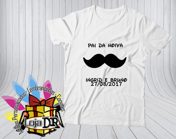 Camiseta Pai do Noivo