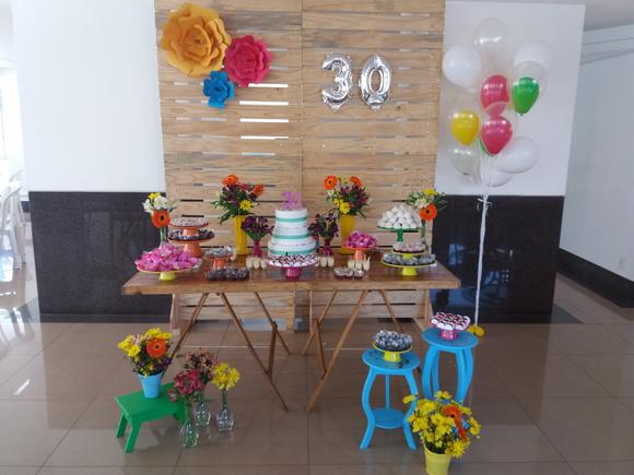 Festa Primavera Decoraç u00e3o Adulto Elo7 -> Decoração De Flores Festa