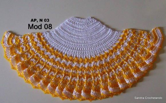 Gráfico da saia em crochê 08(AP 3) no Elo7  9b9da7562f4