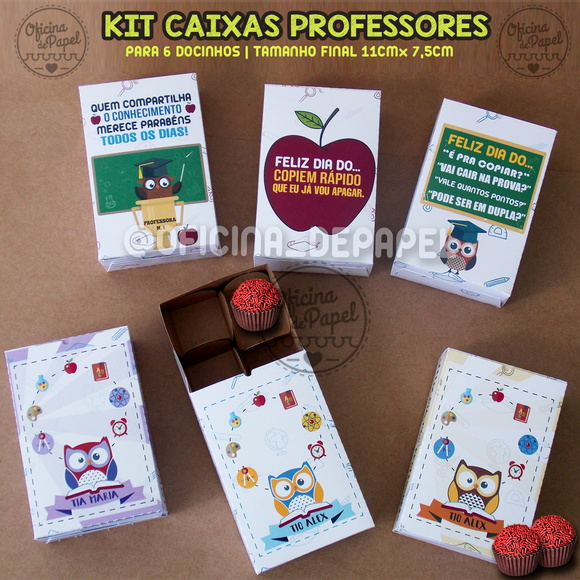 KIT PROFESSORES 6 ARQ. CORTE