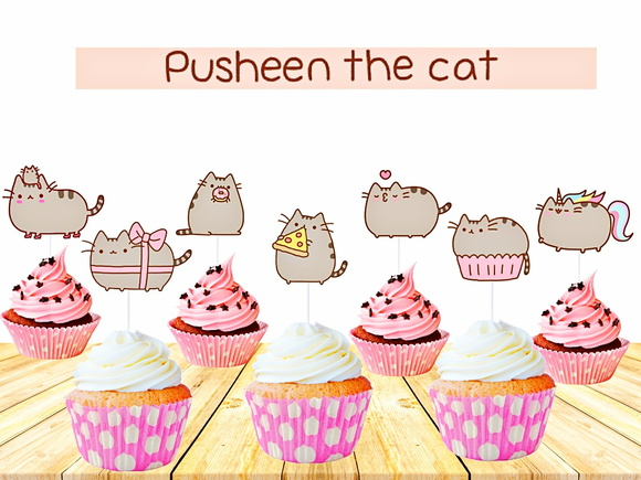 Topper Pusheen the Cat