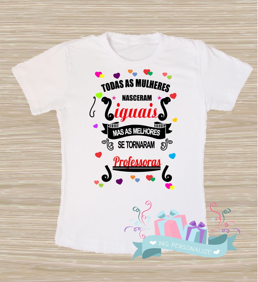 56147859f6 Camiseta Professora