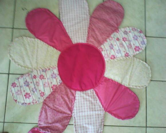 Tapete Patch Rosa