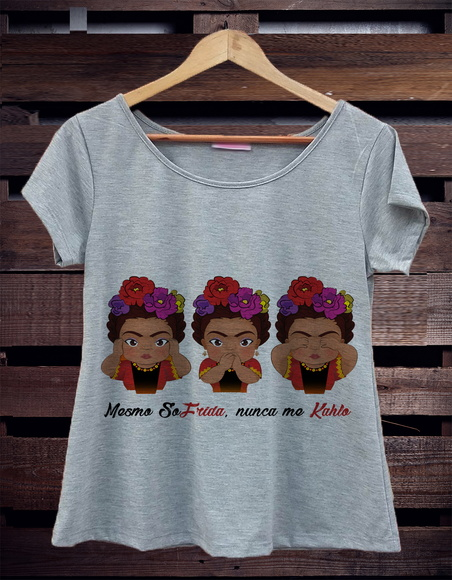 T-Shirt Mescla Frida