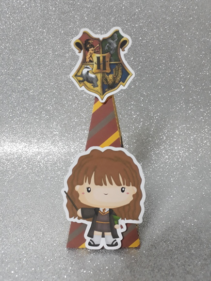 Caixa Cone Hermione Harry Potter