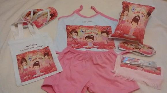 79044d88d Pijama Short doll infantil no Elo7