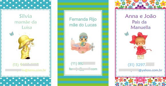 Mommy Cards variados